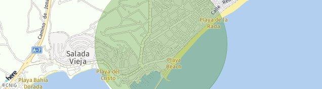 Mapa Estepona