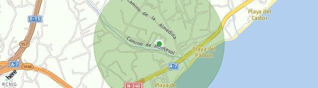 Mapa El Padron