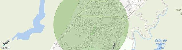 Mapa San Fernando Naval