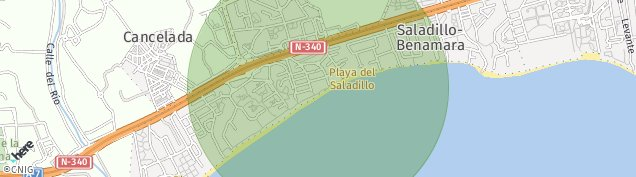 Mapa Saladillo Benamara