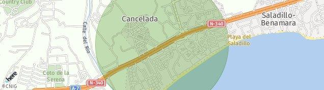 Mapa Cancelada