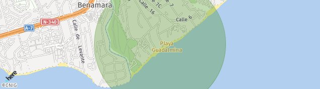 Mapa Atalaya Isdabe