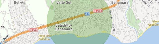 Mapa El Paraíso