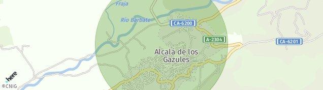Mapa Alcalá de los Gazules