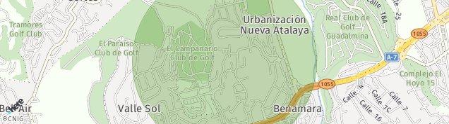 Mapa Cortés de Málaga