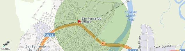 Mapa San Fernando