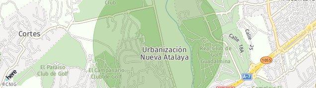 Mapa Guadalmina