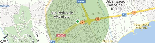 Mapa Nueva Andalucia
