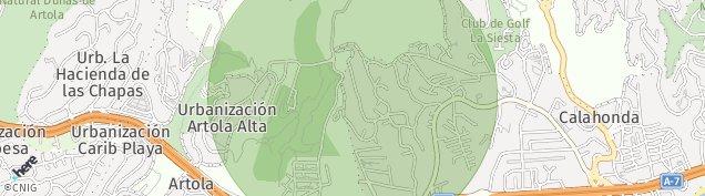Mapa Artola