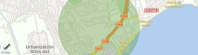 Mapa Marbella
