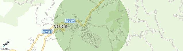 Mapa Gaucín