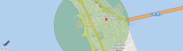 Mapa Cádiz