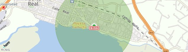 Mapa Puerto Real