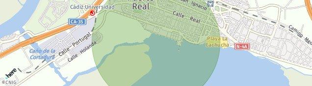Mapa Consorcio Bahia de Cadiz