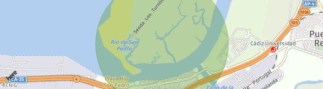 Mapa El Trocadero