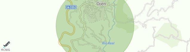 Mapa Ojén