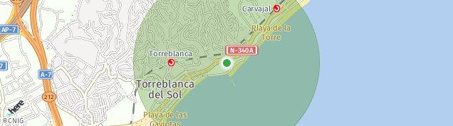 Mapa Fuengirola