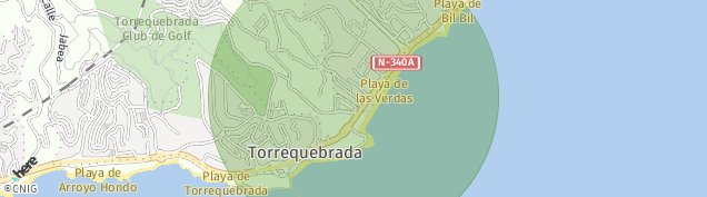 Mapa Benalmádena