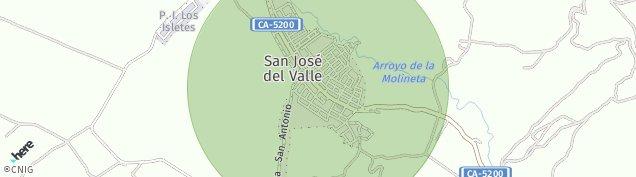 Mapa San José del Valle