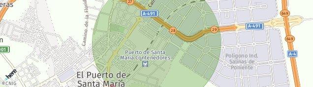 Mapa Doña Blanca-Poblado