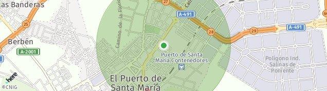 Mapa El Puerto de Santa María