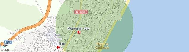 Mapa Torremolinos