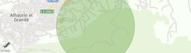 Mapa Alhaurín el Grande