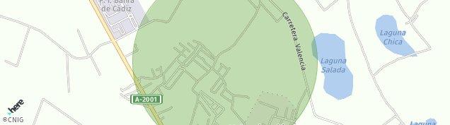 Mapa Berben