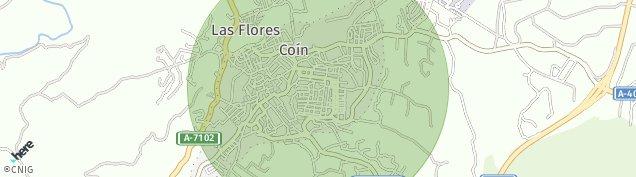 Mapa Coín