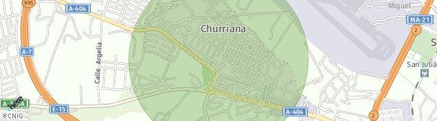 Mapa Churriana