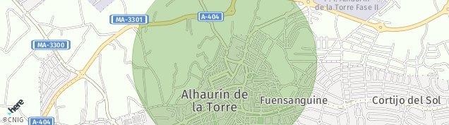 Mapa Alhaurín de la Torre