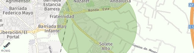 Mapa Solete Alto
