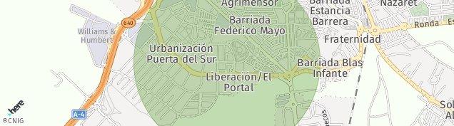 Mapa Jerez de la Frontera