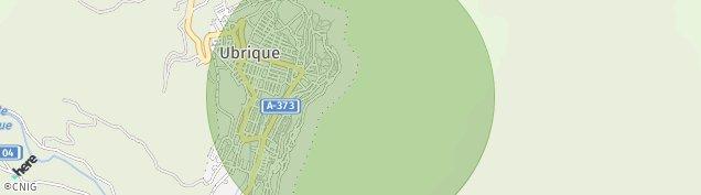Mapa Ubrique