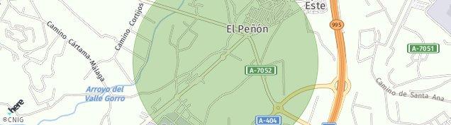 Mapa El Peñón