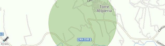 Mapa Lagar de Las Pitas