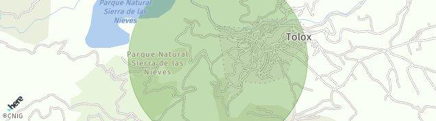 Mapa Tolox