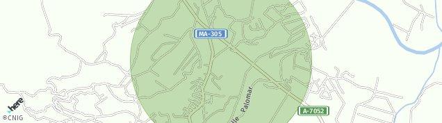 Mapa El Romeral