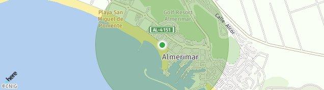 Mapa Almerimar