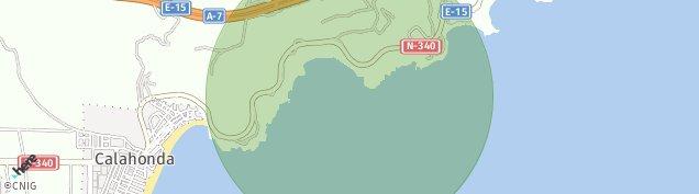 Mapa Calahonda