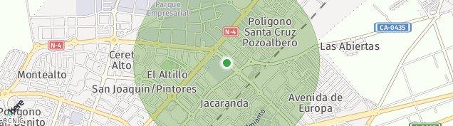Mapa Mesas de Santa Rosa