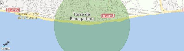 Mapa Torre de Benagalbon