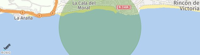 Mapa La Cala del Moral