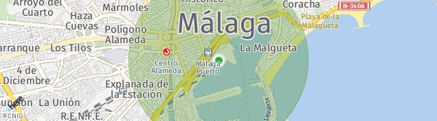Mapa Málaga