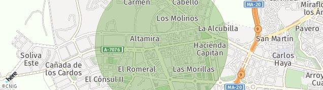 Mapa Los Tomillares