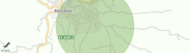 Mapa Alozaina
