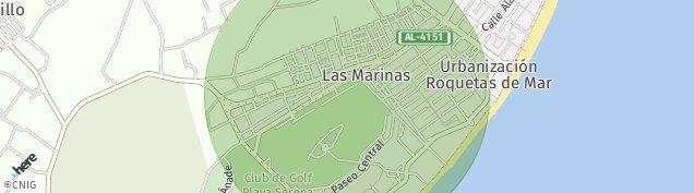 Mapa Las Marinas