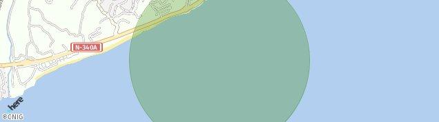 Mapa Torrox Costa