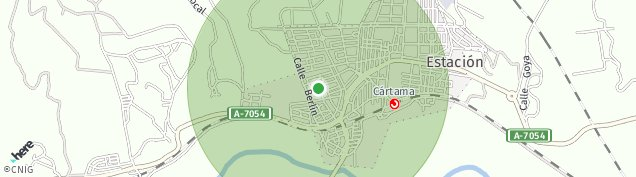 Mapa Loma de Cuenca