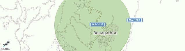 Mapa Benagalbon